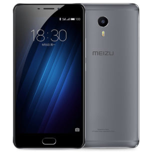 MEIZU M3 Max 6.0 Zoll LTE FHD Phablet mit Android 6.0, Helio P10 Octa Core 1.8GHz, 3GB RAM, 64GB Speicher, 13MP+5MP Kameras, 4.100mAh Akku