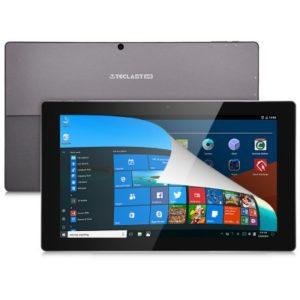 TECLAST TBook 16 Power – 11.6 Zoll FHD Dual Boot Tablet PC mit Win 10 & Android 6.0, Intel Atom X7-8750 Quad Core 1.6GHz, 8GB RAM, 64GB Speicher, 5MP & 2MP Kameras, 8.500mAh Akku