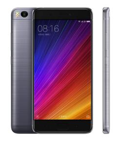 XIAOMI Mi 5S – 5.15 Zoll LTE FHD Smartphone mit Android 7.0, Snapdragon 821 Quad Core 2.15GHz , 3-4GB RAM, 32-128GB Speicher, 13MP & 4MP Kameras, 3.200mAh Akku