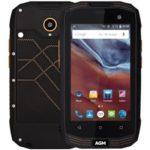 AGM A2 Rio – 4.0 Zoll LTE WVGA Outdoor Smartphone mit Android 5.1, Snapdragon 210 Quad Core 1.1GHz, 2GB RAM, 16GB Speicher, 8MP+2MP Kameras, 2.600mAh Akku