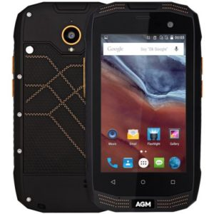 AGM A2 Rio – 4.0 Zoll LTE WVGA Outdoor Smartphone mit Android 5.1, Snapdragon 210 Quad Core 1.1GHz, 2GB RAM, 16GB Speicher, 8MP+2MP Kameras, 2.600mAh Akku
