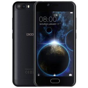 DOOGEE Shoot 2 – 5.0 Zoll 3G HD Smartphone mit Android 7.0, MTK6580 Quad Core 1.3GHz, 2GB RAM, 16GB Speicher, Dual 5MP+5MP & 5MP Kameras, 3.360mAh Akku