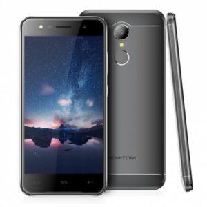 HOMTOM HT37 – 5.0 Zoll 3G HD Smartphone mit Android 6.0, MTK6580 Quad Core 1.3GHz, 2GB RAM, 16GB Speicher, 8MP & 2MP Kameras, 3.000mAh Akku