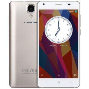 LANDVO XM200 Pro 5.0 Zoll LTE HD Smartphone mit Android 6.0, MTK6737 Quad Core 1.3GHz, 2GB RAM, 16GB Speicher, 5MP+2MP Kameras, 2.200mAh Akku
