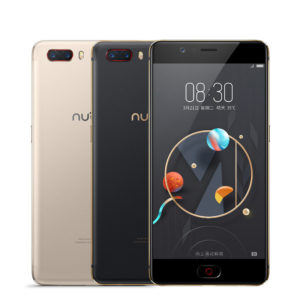 ZTE Nubia M2 – 5.5 Zoll LTE FHD Phablet mit Android 7.0, Snapdragon 625 Octa Core 2.0GHz, 4GB RAM, 64-128GB Speicher, Dual 13MP+13MP & 16MP Kameras, 3.630mAh Akku