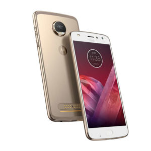 MOTOROLA Moto Z2 Play – 5.5 Zoll LTE FHD Phablet mit Android 7.1, Snapdragon 626 Octa Core 2.2GHz, 4GB RAM, 64GB Speicher, 16MP & 5MP Kameras, 3.000mAh Akku