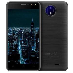 VKWORLD F2 – 5.0 Zoll 3G HD Smartphone mit Android 6.0, MTK6580A Quad Core 1.3GHz, 2GB RAM, 16GB Speicher, 8MP & 2MP Kameras, 2.200mAh Akku