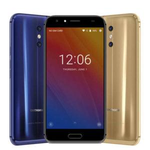 DOOGEE BL5000 – 5.5 Zoll LTE FHD Phablet mit Android 7.0, MTK6750T Octa Core 1.5GHz, 4GB RAM, 64GB Speicher, Dual 13MP+13MP & 8MP Kameras, 5.050mAh Akku