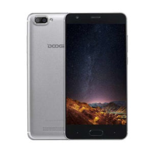 DOOGEE X20 – 5.0 Zoll 3G HD Phablet mit Android 7.0, MTK6580 Quad Core 1.3GHz, 2GB RAM, 16GB Speicher, Dual 5MP+5MP & 2MP Kameras, 2.580mAh Akku