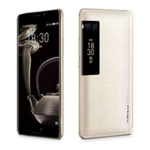 MEIZU Pro 7 Plus – 5.7 Zoll LTE QHD Dual Display Phablet mit Android 7.0, Helio X30 Deca Core 2.6GHz, 6GB RAM, 64-128GB Speicher, Dual 12MP & 16MP Kameras, 3.500mAh Akku