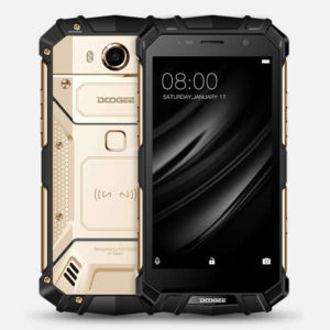 DOOGEE S60 – 5.2 Zoll  LTE FHD Outdoor Smartphone mit Android 7.0, Helio P25 Octa Core 2.5GHz, 6GB RAM, 64GB Speicher, 21MP & 8MP Kameras, 5.580mAh Akku