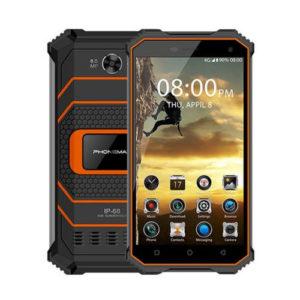 PHONEMAX Rocky 2 – 5.0 Zoll LTE HD Outdoor Smartphone mit Android 7.0, MTK6737 Quad Core 1.3GHz, 2GB RAM, 16GB Speicher, 8MP & 2MP Kameras, 4.000mAh Akku