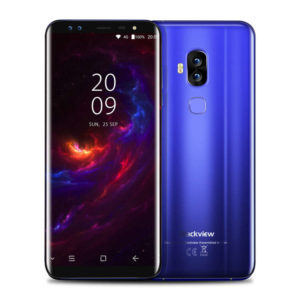 BLACKVIEW S8 – 5.7 Zoll LTE HD+ Phablet mit Android 7.0, MTK6750T Octa Core 1.5GHz, 4GB RAM, 64GB Speicher, Dual 13MP+0.3MP & Dual 8MP+0.3MP Kameras, 3.180mAH Akku