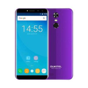 OUKITEL C8 – 5.5 Zoll HD 3G Phablet mit Android 7.0, MTK6580A Quad Core 1.3GHz, 2GB RAM, 16GB Speicher, 8MP & 2MP Kameras, 3.000mAh Akku