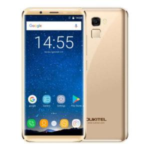 OUKITEL K5000 – 5.7 Zoll LTE HD+ Phablet mit Android 7.0, MTK6750T Octa Core 1.5GHz, 4GB RAM, 64GB Speicher, 16MP & 13MP Kameras, 5.000mAh Akku