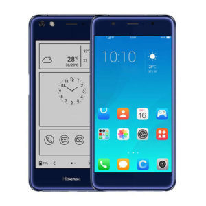 HISENSE A2 Pro – 5.5 Zoll FHD & 5.2 qHD e-ink LTE Phablet mit Android 7.1, Snapdragon 625 Octa Core 2.0GHz, 4GB RAM, 64GB Speicher, 12MP & 16MP Kameras, 3.090mAh Akku