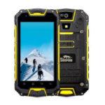 SNOPOW M5 – 4.5 Zoll LTE qHD Outdoor Smartphone mit Android 5.1, MTK6735 Quad Core 1.2GHz, 2GB RAM, 16GB Speicher, 8MP & 2MP Kameras, 3.300mAh Akku