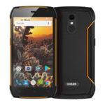 UHANS K5000 – 5.0 Zoll LTE HD Outdoor Smartphone mit Android 7.0, MTK6753 Octa Core 1.3GHz, 3GB RAM, 32GB Speicher, 13MP & 8MP Kameras, 5.000mAh Akku