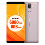 ULEFONE Power 3 – 6.0 Zoll LTE FHD+ Phablet mit Android 7.1, Helio P23 Octa Core 2.0GHz, 6GB RAM, 64GB Speicher, Dual 16MP+0.3MP & Dual 8MP+5MP Kameras, 6.080mAh Akku