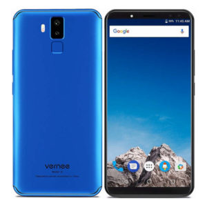 VERNEE X – 6.0 Zoll LTE FHD+ Phablet mit Android 7.1, Helio P23 Octa Core 2.5GHz, 4-6GB RAM, 64-128GB Speicher, Dual 16MP+5MP & Dual 13MP+5MP Kameras, 6.200mAh Akku