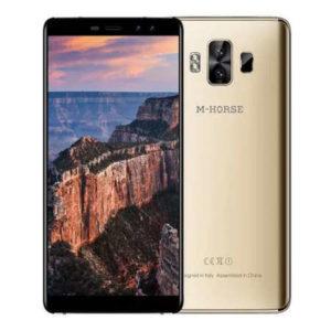 M-HORSE Pure 1 – 5.7 Zoll LTE HD+ Phablet mit Android 7.0, MTK6737 Quad Core 1.3GHz, 3GB RAM, 32GB Speicher, Dual 8MP+2MP & Dual 5MP+2MP Kameras, 4.380mAh Akku