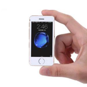 MELROSE S9P – 2.5 Zoll LTE Mini Smartphone mit Android 6.0, MTK6580 Quad Core 1.3GHz, 1GB RAM, 8GB Speicher, 2MP Kamera, 1.050mAh Akku
