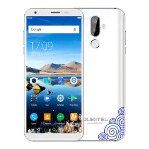 OUKITEL K5 – 5.7 Zoll LTE HD+ Phablet mit Android 7.0, MTK6737T Quad Core 1.5GHz, 2GB RAM, 16GB Speicher, Dual 8MP+0.3MP & 2MP Kameras, 4.000mAh Akku