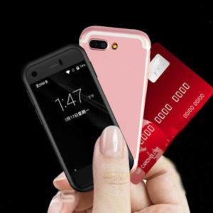 SOYES 7S – 2.54 Zoll 3G Mini Smartphone mit Android 6.0, MTK6580 Quad Core 1.3GHz, 1GB RAM, 8GB Speicher, 5MP & 0.3MP Kameras, 600mAh Akku