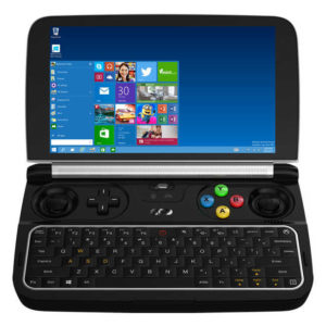 GPD Win 2 – 6.0 Zoll HD Game Pad Konsole mit Windows 10, Intel Core m3-7Y30 2.60GHz, 8GB RAM, 128-256GB SSD Speicher, 2x 4.900mAh Akku