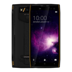 DOOGEE S50 – 5.7 Zoll LTE HD+ Outdoor Phablet mit Android 7.1, Helio P23 Octa Core 2.3GHz, 6GB RAM, 64-128GB Speicher, Dual 16MP+13MP & Dual 16MP+8MP Kameras, 5.180mAh Akku