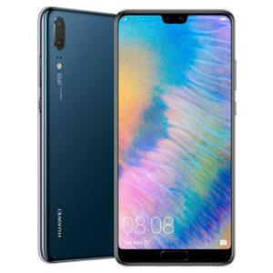 HUAWEI P20 – 5.8 Zoll LTE FHD+ Phablet mit Android 8.1, Kirin 970 Octa Core 2.36GHz, 4GB RAM, 128GB Speicher, Dual 12MP+20MP & 24MP Kameras, 3.400mAh Akku
