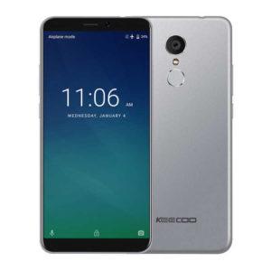 KEECOO P11 – 5.7 Zoll LTE HD+ Phablet mit Android 7.0, MTK6737V/W Quad Core 1.3GHz, 2GB RAM, 16GB Speicher, 8MP & 5MP Kameras, 3.050mAh Akku