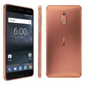 NOKIA 6 (2017) – 5.5 Zoll LTE FHD Phablet mit Android 7.0, Snapdragon 430 Octa Core 1.4Ghz, 3-4GB RAM, 32-64GB Speicher, 16MP & 8MP Kameras, 3.000mAh Akku