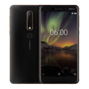 NOKIA 6 (2018) – 5.5 Zoll LTE FHD Phablet mit Android 8.0, Snapdragon 630 Octa Core 2.2Ghz, 4GB RAM, 32-64GB Speicher, 16MP & 8MP Kameras, 3.000mAh Akku