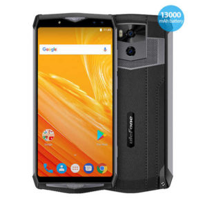 ULEFONE Power 5 – 6.0 Zoll LTE FHD+ Phablet mit Android 8.1, Helio P23 Octa Core 2.0GHz, 6GB RAM, 64GB Speicher, Dual 21MP+5MP & Dual 8MP+5MP Kameras, 13.000mAh Akku