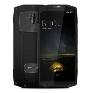 BLACKVIEW BV9000 – 5.7 Zoll LTE HD+ Outdoor Phablet mit Android 7.1, Helio P25 Octa Core 2.4GHz, 4GB RAM, 64GB Speicher, Dual 13MP+8MP & 8MP Kameras, 4.180mAh Akku