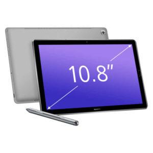 HUAWEI MediaPad M5 & M5 Pro – 10.8 Zoll WQXGA Tablet, mit Android 8.0, Hisilicon Kirin 960 Octa Core 2.4GHz, 4GB RAM, 32-128GB Speicher, 13MP & 8MP Kameras, 7.500mAh Akku
