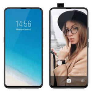 VIVO NEX A – 6.59 Zoll LTE FHD+ Phablet mit Android 8.1, Snapdragon 710 Octa Core 2.2GHz, 6-8GB RAM, 128GB Speicher, Dual 12MP+5MP & 8MP Kameras, 4.000mAh Akku