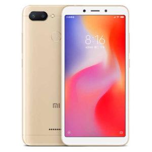 XIAOMI Redmi 6 – 5.45 Zoll LTE HD+ Phablet mit Android 8.1, Helio P22 Octa Core 2.0GHz, 3-4GB RAM, 32-64GB Speicher, Dual 12MP+5MP & 5MP Kameras, 3.000mAh Akku
