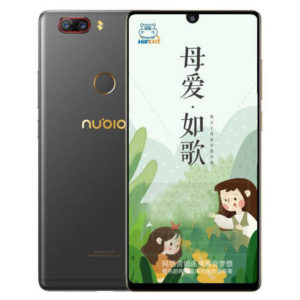 ZTE NUBIA Z18 – 5.99 Zoll LTE FHD+ Phablet mit Android 8.1, Snapdragon 845 Octa Core 2.8GHz, 6-8GB RAM, 64-128GB Speicher, Dual 16MP+24MP & 8MP Kameras, 3.350mAh Akku