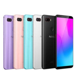 ZTE NUBIA Z18 Mini – 5.7 Zoll LTE FHD+ Phablet mit Android 8.1, Snapdragon 660 Octa Core 2.2GHz, 6GB RAM, 64-128GB Speicher, Dual 24MP+8MP & 5MP Kameras, 3.450mAh Akku