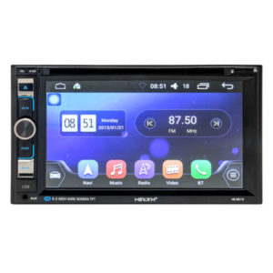 HEVXM HE-6610 – 6.2 Zoll 2 DIN Autoradio mit Android 6.0, INTEL Quad Core 1.2GHz, 1GB RAM, 16GB Speicher