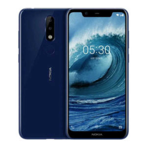 NOKIA 5.1 Plus / X5 – 5.86 Zoll LTE HD+ Phablet mit Android 9.0, Helio P60 Octa Core 2.0Ghz, 3-4GB RAM, 32-64GB Speicher, Dual 13MP+5MP & 8MP Kameras, 3.060mAh Akku