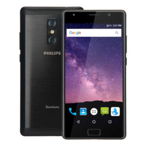 PHILIPS Xenium X598 – 5.5 Zoll LTE FHD Phablet mit Android 7.0, MTK6750 Octa Core 1.5GHz, 4GB RAM, 64GB Speicher, Dual 13MP+5MP & 13MP Kameras, 4.000mAh Akku