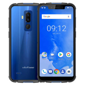ULEFONE Armor 5 – 5.85 Zoll LTE HD+ Outdoor Phablet mit Android 8.1, Helio P23 Octa Core 2.3GHz, 4GB RAM, 64GB Speicher, Dual 16MP+5MP & 13MP Kameras, 5.000mAh Akku