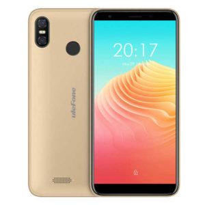 ULEFONE S9 Pro – 5.5 Zoll LTE HD+ Phablet mit Android 8.1, MTK6739 Quad Core 1.3GHz, 2GB RAM, 16GB Speicher, Dual 8MP+5MP & 5MP Kameras, 3.300mAh Akku