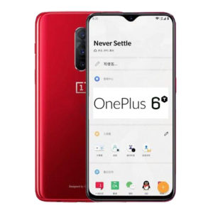 OnePlus 6T – 6.4 Zoll LTE FHD+ Phablet mit Android 9.0, Snapdragon 845 Octa Core 2.8GHz, 6-8GB RAM, 64-256GB Speicher, Dual 12MP+20MP & 25MP Kameras, 3.700mAh Akku