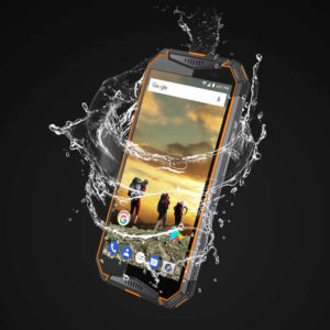 ULEFONE Armor 3T – 5.7 Zoll LTE HD+ Outdoor Phablet mit Android 8.1, Helio P23 Octa Core 2.3GHz, 4GB RAM, 64GB Speicher, 21MP & 8MP Kameras, 10.300mAh Akku