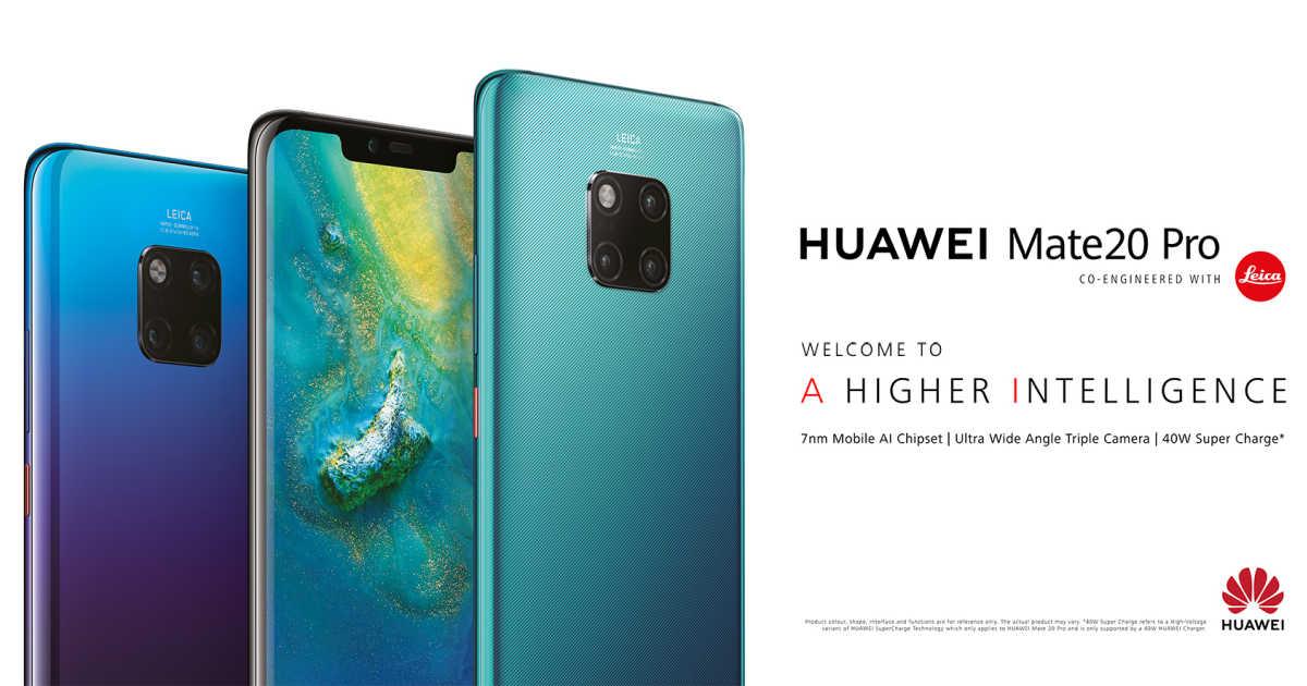 Huawei Mate 20 Pro 639 Zoll Lte Qhd Phablet Preisvergleich
