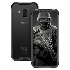 BLACKVIEW BV9600 Pro / Plus – 6.21 Zoll LTE FHD+ Outdoor Phablet mit Android 9.0, Helio P60 Octa Core 2.0GHz, 6GB RAM, 128GB Speicher, Dual 16MP+8MP & 8MP Kameras, 5.580mAh Akku